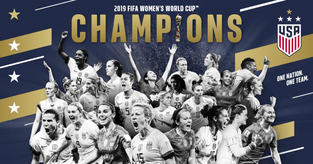 USWNT Champions graphic