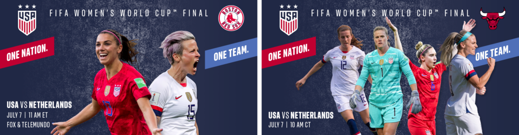 USWNT customize graphic - World Cup 2019
