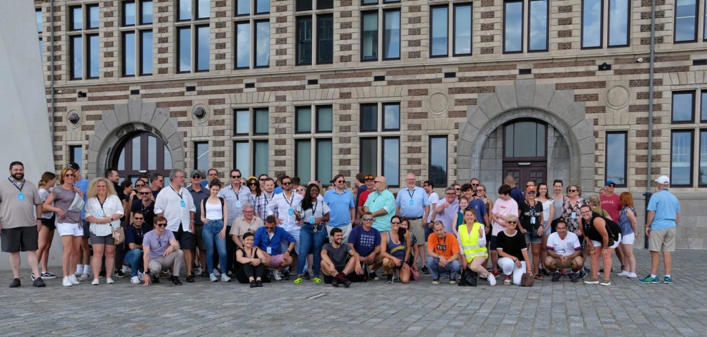 AMIN Conference Group picture in Antwerp, Belgium 2019