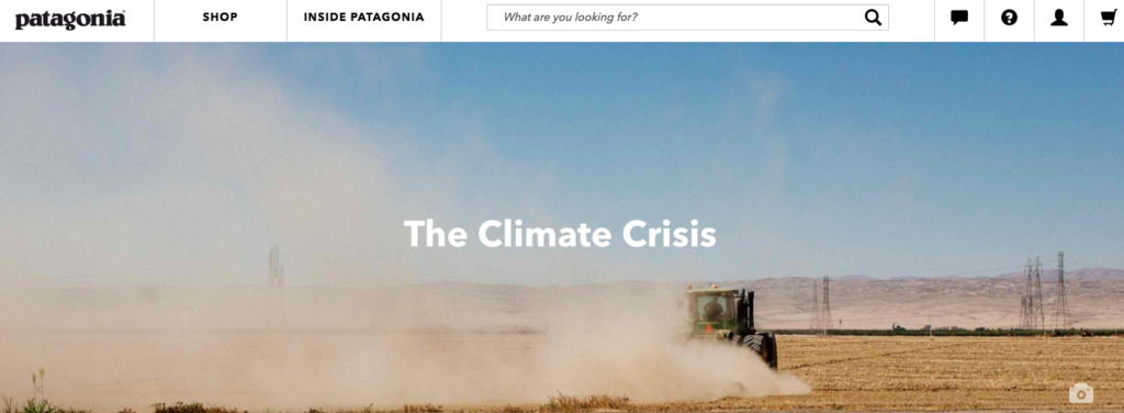 Patagonia on the Climate Crisis