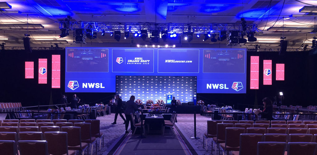 NWSL 2020 Draft Ceremony Design Header