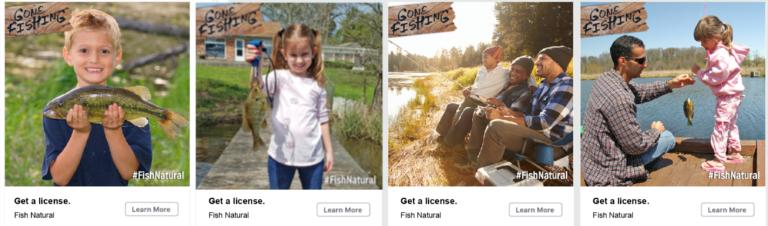 Gone Fishing Facebook Posts